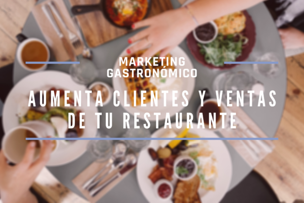 Marketing Gastronómico